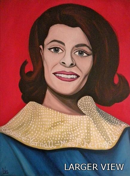 CELESTE YARNALL' - MISS RHEINGOLD 1964